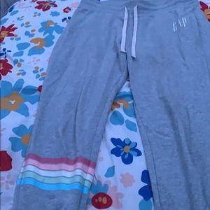 Gray gap sweatpants